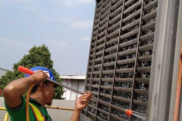 Service Cleaning di Coca Cola Amatil Indonesia PLANT CIBITUNG