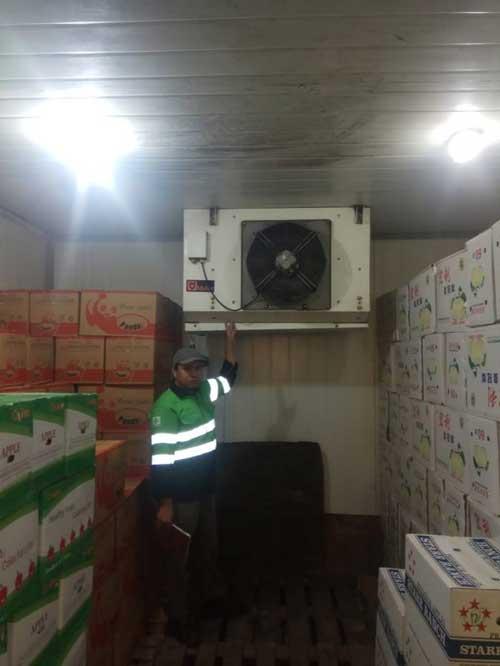 Service cold storage